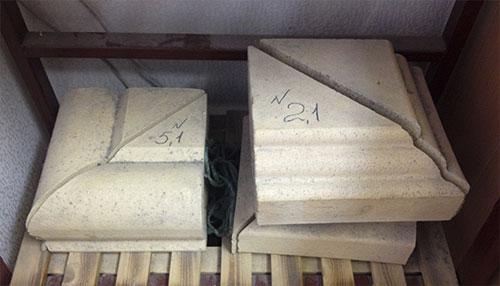 Кирпич керамический архитектурный (наружный угол) КПА.у-2.1, КПАУ - 5.1 ТУ 5741-004-51478045-2010.